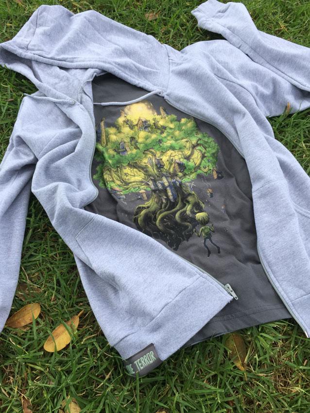 More details - hoodie tag